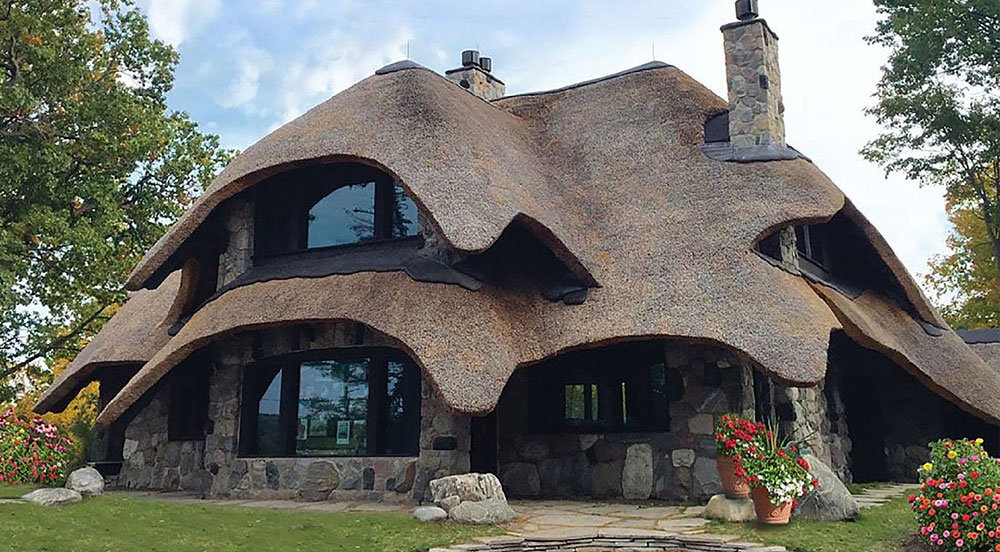 Charlevoix Mushroom Houses A Unique Vacation Experience