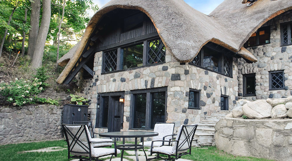 Charlevoix Mushroom Houses Unique Vacation Rentals